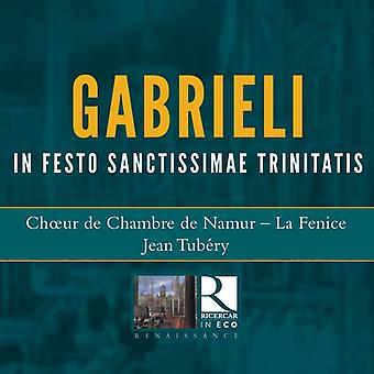 Gabrieli / Tubery - In Festo Sanctissimae Trinitatis [CD] USA import