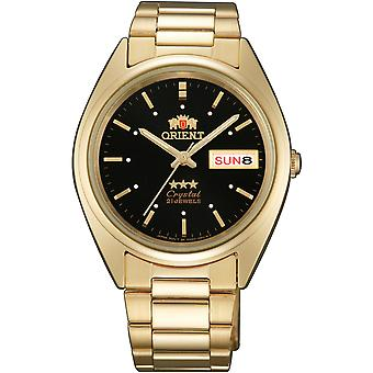 Orient 3 Star Watch FAB00002B9 - Plated Stainless Steel Unisex Automatic Analogue