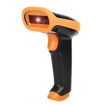 Barcode reader with USB to 1D codes - Orange