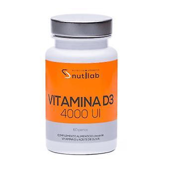 Vitamin D3 4000 IU 60 softgels