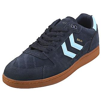 hummel Hb Team Mens Casual Trainers in Peacoat