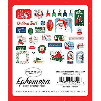 Carta Bella Hyvää joulua Ephemera