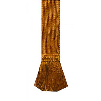 House of Cheviot Garter Ties Garter Ties ~ Ochre