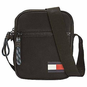 Tommy Hilfiger Mini Reporter Unisex Classic Side Bag in Black