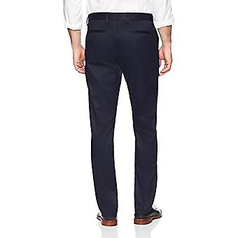 Brand - Buttoned Down Men's Slim Fit Non-Iron Dress Chino Pant, Navy, ...