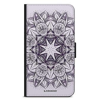Bjornberry Brieftasche Fall LG G5 - lila Mandala