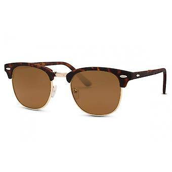 Sunglasses Unisex Foldable Traveler Brown (CWI1451)