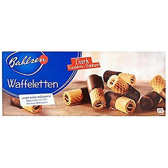 Bahlsen Dark Waffeletten Crispy Rolled Wafers