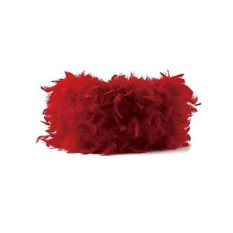 Feather Shade Red 330mm x 200mm
