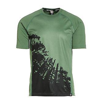 Noul RACEFACE Men's Trigger Short Sleeve Jersey Green