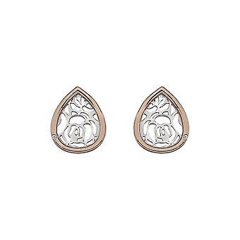 Hete diamanten geloof Teardrop oorbellen DE529