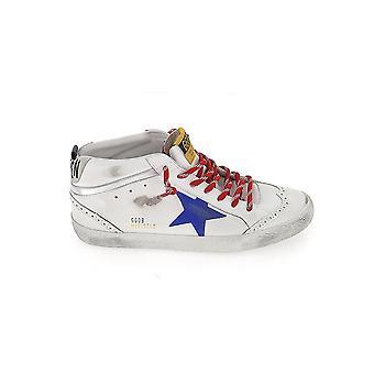 Goldene Gans Gmf00122f00057710257 Herren's Sneakers aus weißem Leder