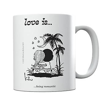 Love Is Being Romantic Mug