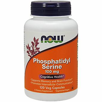 Now Foods Phosphatidyl Serine, 100 mg, 120 Vcaps