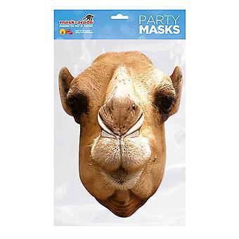 Máscara de cara de fiesta de camello máscara-arade
