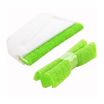 Scouring Pad Window Track Cleaning Brushes Hand-held Groove Gap Cleaning Tools