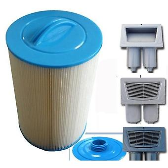 Swim Spa Filter Unicel 6ch-940filbur/fc-0359 Compatible With Carribbean,