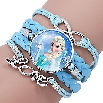 28 Styles Disney Frozen 2 Elsa Anna Princess Cartoon Bracelet- Action Figure