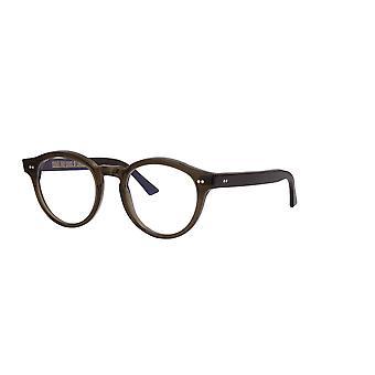 Cutler and Gross 1378 04 Olive - Blue Light Lenses Glasses