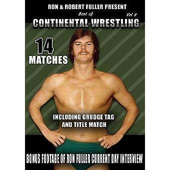 Best Of Continental Wrestling 4 [DVD] USA import