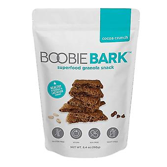 Boobiebark superfood granola snack, cacau crunch, 6.4 oz