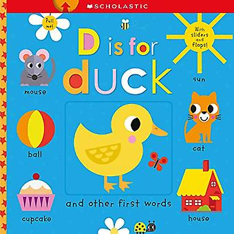 D Is for Duck: Scholastic Early Learners (Touch and Explore) (Escolásticas Primeiros Aprendizes) [Livro de tabuleiro]