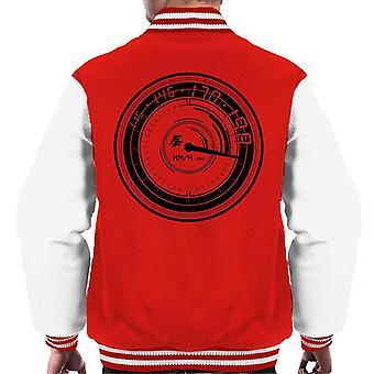 Fast and Furious Speedometer Men's Varsity Jacket