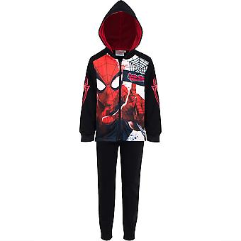 Spiderman kinderen (2-8) trainingspak jogging set met rits spi1304trk