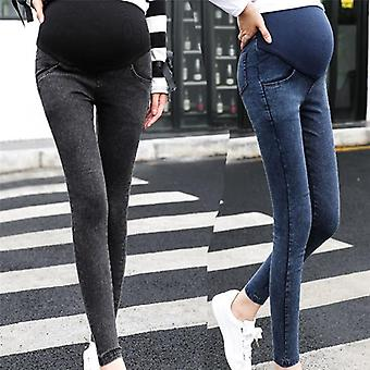 Maternity Pregnancy Skinny Trousers Jeans Pants