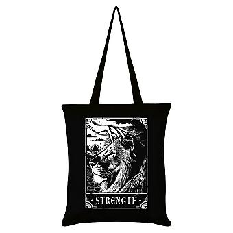 Dödliga Tarot Styrka Tote Bag