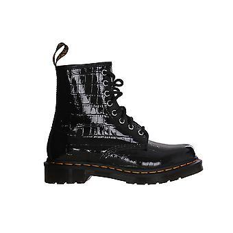 Dr. Martens Patente Lamper Croc Relieve 26262001 universal todo el año zapatos de mujer