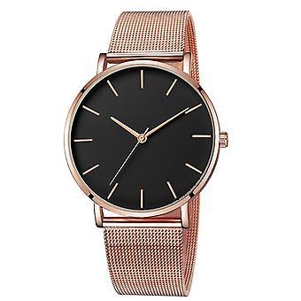 Ceas ultra subțire, ceasuri minimaliste pentru femei cu plasă