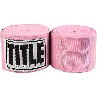 Title Boxing Mexican Style Handwraps-Pink