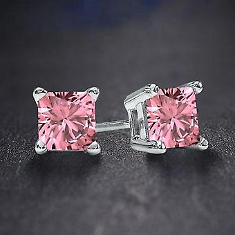 Palazo Pink Cz náušnice | 9608433