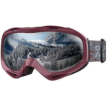 OutdoorMaster OTG Ski Goggles - Over Glasses Ski/Snowboard Goggles for Men, Women & Youth