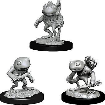 D&D Nolzur's Unpainted Miniatures Grung (Pack of 6)