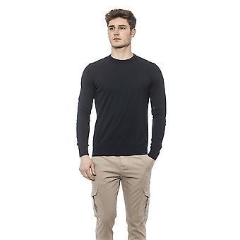 Alpha Studio Men's Blue Sweater
