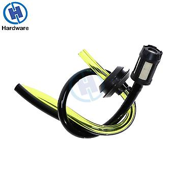 1pcs Replacement Fuel Hose Pipe + Tank Filter Spare Parts For Strimmer Trimmer