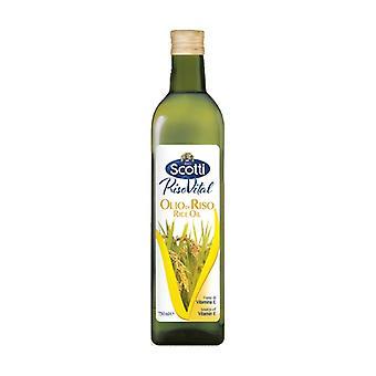Bottled Rice Oil 750 ml of oil