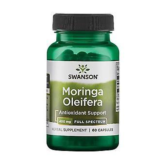 Moringa Oleifera, 400mg 60 capsules