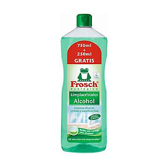 Refill Glass Cleaner Alcohol Eco 750ml + 250ml Free