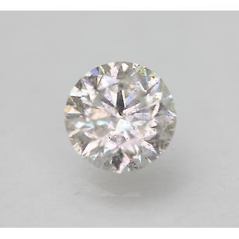 Certified 1.14 Carat G SI2 Round Brilliant Enhanced Natural Loose Diamond 6.53mm