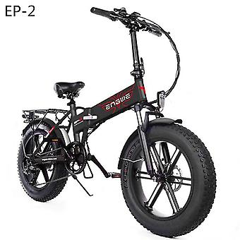 Eu Stock Electric Bike 20*4.0inch 48v12.5a Electric Bicycle 500w 38km/h 7speed