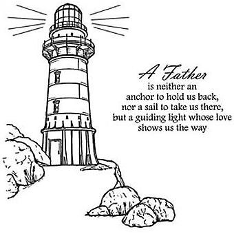 Creative Expressions Lighthouse 2 Pre Cut Stamps