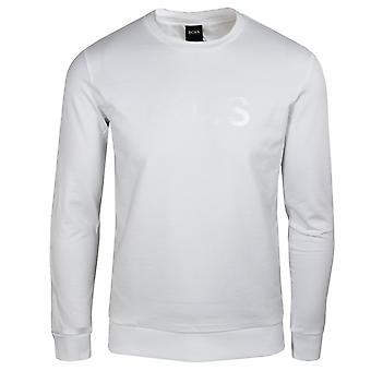 Hugo boss men's white heritage sweatshirt