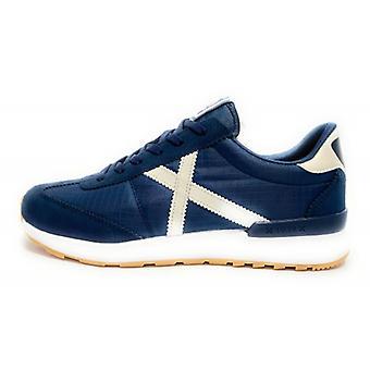Munich Sneaker Running Dynamo Suede/ Nylon Blue 12 Us20mu09