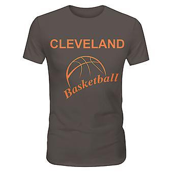 Allthemen Men's Lightweight Basketball Print T-shirt