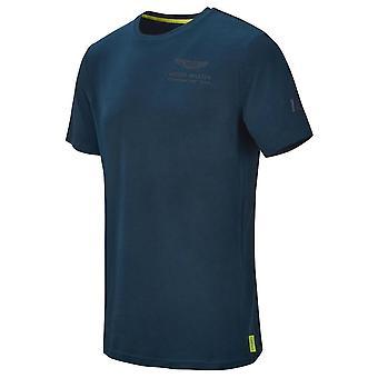 2021 Aston Martin F1 Official Driver Lance Stroll T-Shirt (Navy)