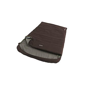 Outwell Brown Campion Lux Double Sleeping Bag