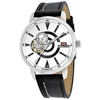 Seapro Elliptic Automatic White Dial Men's Watch SP0141